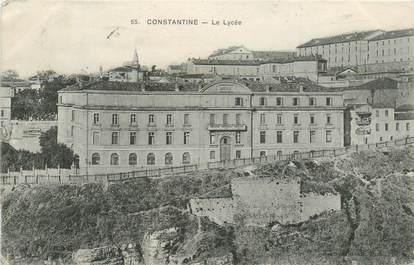 """CPA ALGERIE """"Constantine, le lycée"""""""