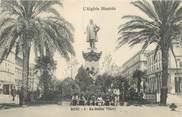 "Algerie CPA ALGERIE ""Bone, la statue Thiers"""