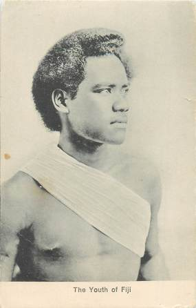 "CPA FIDJI ""Jeune Fidjien"""