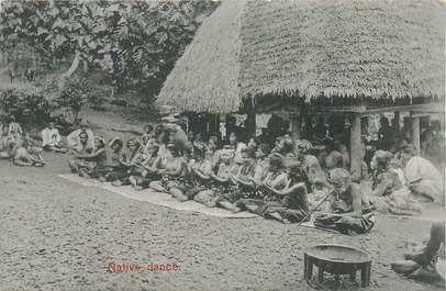 """CPA FIDJI """"Danse, Samoa"""""""