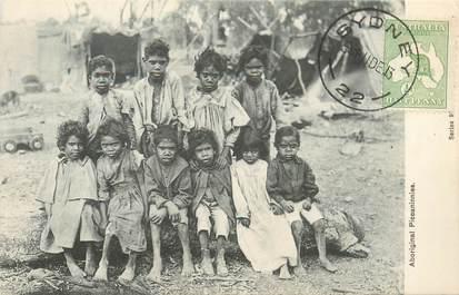 "CPA AUSTRALIE ""Aborigènes"" / OBLITERATION"