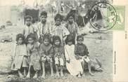 """Oceanie CPA AUSTRALIE """"Aborigènes"""" / OBLITERATION"""