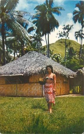 """CPSM TAHITI """"Jeune tahitienne"""""""