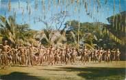 """France CPSM TAHITI """"Danseurs de Makatea"""""""