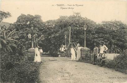 "CPA TAHITI ""Pont de Tipaerui"""
