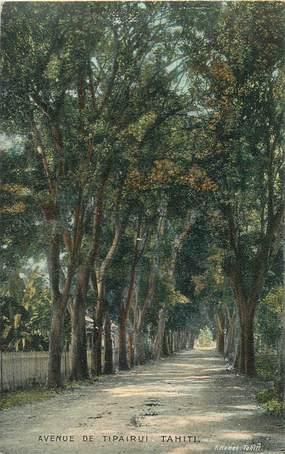 "CPA TAHITI ""Avenue de Tipaerui"""