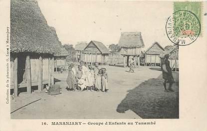 """CPA MADAGASCAR """"Mananjary, groupe d'enfants au Tanambé"""""""