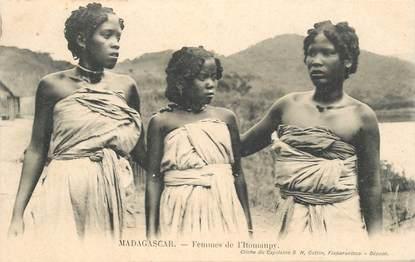 """CPA MADAGASCAR """"Femmes de l'Itomanpy"""""""