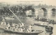 """94 Val De Marne / CPA FRANCE 94 """"Joinville le Pont, les joutes à la lance"""""""