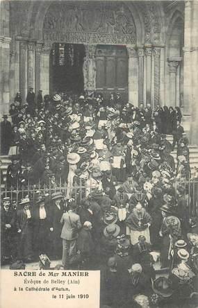 """CPA FRANCE 71 """"Autun, Sacre de Mgr Manier, 1910"""""""