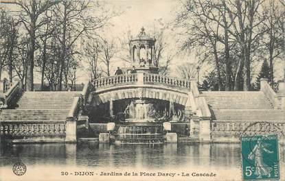 """CPA FRANCE 21 """"Dijon, Jardins de la Place Darcy"""""""