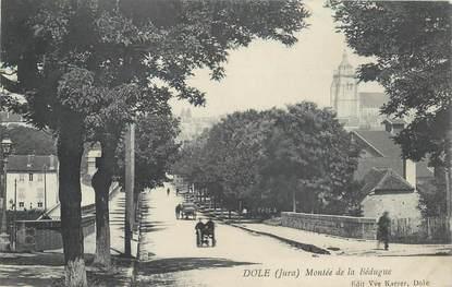 """CPA FRANCE 39 """"Dole, Montée de la Bédugue"""""""