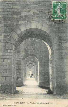 """CPA FRANCE 52 """"Chaumont, le Viaduc"""""""