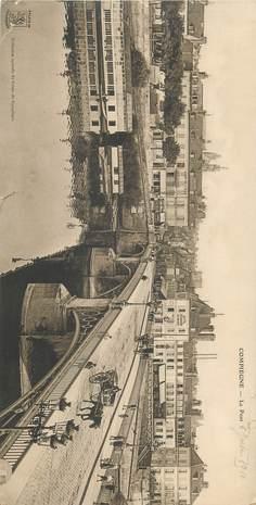 """CPA PANORAMIQUE FRANCE 60 """"Compiègne"""""""