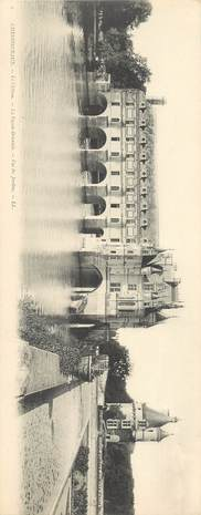 """CPA PANORAMIQUE FRANCE 37 """"Chateau de Chenonceaux"""""""
