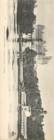 """CPA PANORAMIQUE FRANCE 60 """"Chateau de Pierrefonds, vue prise de la Gare"""""""
