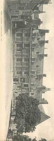 """CPA PANORAMIQUE FRANCE 41 """"Blois, le chateau"""""""