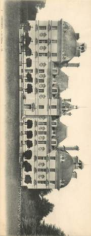 """CPA PANORAMIQUE FRANCE 41 """"Cheverny, le chateau"""""""