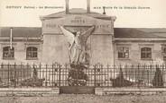 """92 Haut De Seine / CPA FRANCE 92 """"Antony"""" / MONUMENT AUX MORTS"""