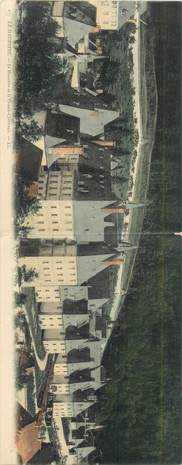 """CPA PANORAMIQUE FRANCE 05 """"Le Dauphiné, Le monastère de la Grande Chartreuse"""""""