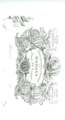 CARTE PUBLICITAIRE DIPLOME / MONACO