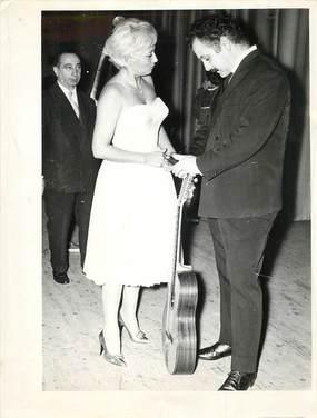 "PHOTO DE PRESSE ""BRASSENS, 1961 à Marseille"""