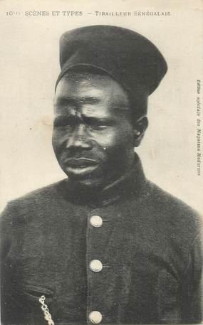 CPA AFRIQUE SENEGAL / Type Sénégalais tirailleur