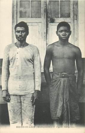 """CPA MADAGASCAR """"Types indigènes à Diégo Suarez"""""""