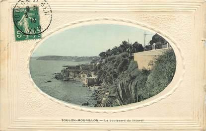"""CPA FRANCE 83 """"Toulon, le Mourillon, bld du littoral"""""""