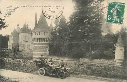 """CPA FRANCE 28 """"Frazé, Fossé du Chateau"""""""