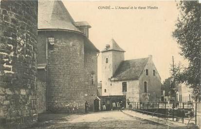 """CPA FRANCE 59 """"Condé, l'Arsenal et le vieux Moulin"""""""