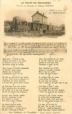 """CPA FRANCE 71 """"Saint Bonnet, le Train de Beaubery"""""""