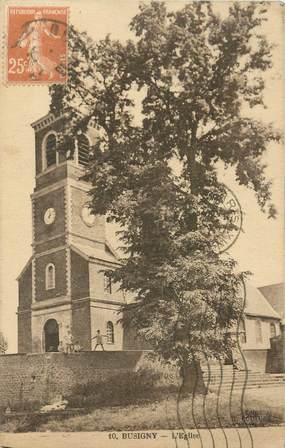 "CPA FRANCE 59 ""Busigny, l'Eglise"""