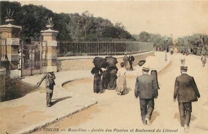 """CPA FRANCE 83 """"Toulon, le Mourillon, jardin des plantes"""""""