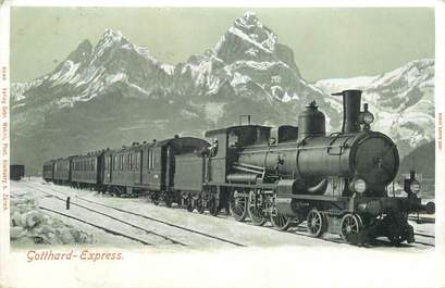 "CPA SUISSE ""Train Gothard Express"""