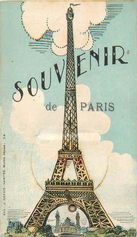 """CPA FRANCE 75 """"Paris"""" / CARTE A SYSTEMES"""