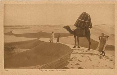 """CPA SCENES ET TYPES / LEHNERT & LANDROCK / TRES BON ETAT """"Voyage dans le désert, N°146"""""""
