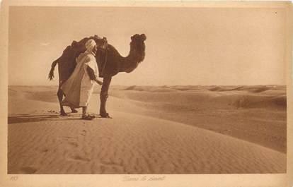 """CPA SCENES ET TYPES / LEHNERT & LANDROCK / TRES BON ETAT """" Dans le désert, N° 183"""""""