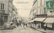 "76 Seine Maritime / CPA FRANCE 76 ""Neufchâtel en Bray, grande rue Fausse porte"""