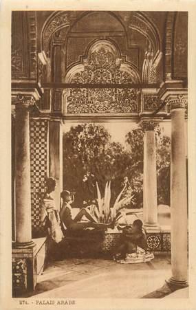 """CPA SCENES ET TYPES / LEHNERT & LANDROCK / TRES BON ETAT """"Palais arabe, N° 274"""""""