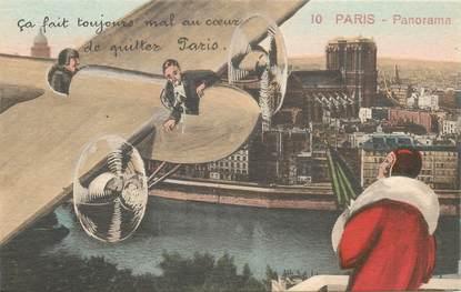 "CPA FRANCE 75 ""Paris"" / Série ""N°10, Panorama"""