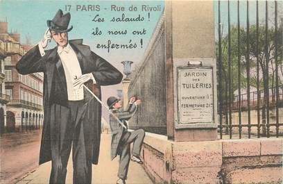 "CPA FRANCE 75 ""Paris"" / Série ""N°17, Rue de Rivoli"""