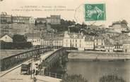 """95 Val D'oise / CPA FRANCE 95 """"Pontoise, panorama, le château"""""""