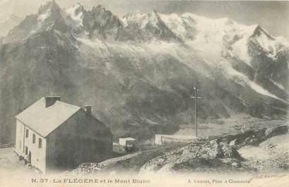 """CPA FRANCE 74 """"La Flégère et le Mont Blanc"""""""