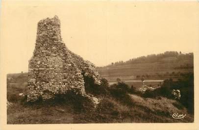 "CPA FRANCE 74 ""Ruines du Chateau de Faucigny"""