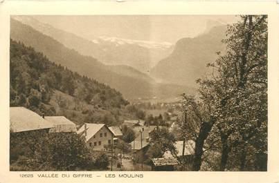 """CPA FRANCE 74 """"Vallée du Giffre, les Moulins"""""""