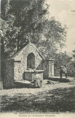 """CPA FRANCE 74 """"Mornex Salève, ruines de l'Ancienne Chapelle"""""""