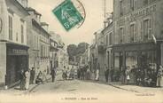 """95 Val D'oise / CPA FRANCE 95 """"Ecouen, rue de Paris """""""