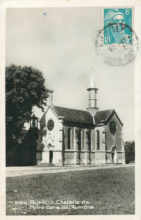 """CPSM FRANCE 74 """"Rumilly, Chapelle"""""""