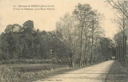 """CPA FRANCE 74 """"Env. de Frangy, Chateau de Sallenoves"""""""